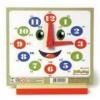 Relógio Educativo em Madeira - 2334