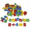 Alfabeto e Números Color. Mad Recortada 56 Pç - 0053